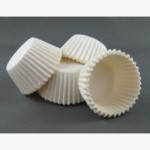 #360 White Cup Cake Papers - Packaging Direct
