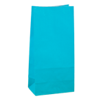 No4 Turquoise Green Block Bottom Gift Bag - Packaging Direct