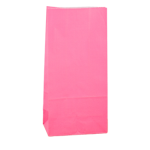No4 Cerise Block Bottom Gift Bag - Packaging Direct