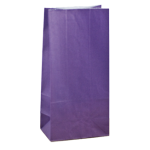 No4 Purple Block Bottom Gift Bag - Packaging Direct