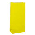 No4 Yellow Block Bottom Gift Bag - Packaging Direct