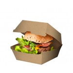 Brown Board Hamburger Clam - Packaging Direct