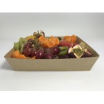 No4 Brown Board Open Tray - Packaging Direct