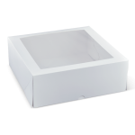 "11"" Deep Window Cake Box - Packaging Direct"