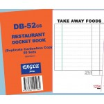 Takeaway Docket Book Pk 10 - Packaging Direct