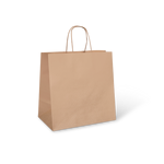 Brown MID Paper Twist Carry Bags - Packaging Direct