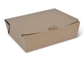 Large Brown Takeaway Box - Packaging Direct