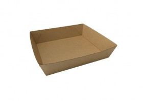 No2 Brown Board Open Tray - Packaging Direct