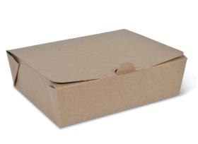 Medium Brown Takeaway Box - Packaging Direct