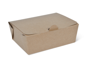 Small Brown Takeaway Box - Packaging Direct