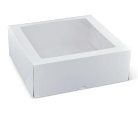 "11"" Deep Window Cake Box - Packaging Direct"