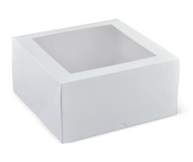 "9"" Deep Window Cake Box  - Packaging Direct"