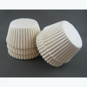 #408 White Cup Cake Papers  - Packaging Direct