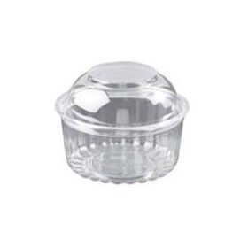 12oz Shobowl With Hinged Domed Lid - Packaging Direct