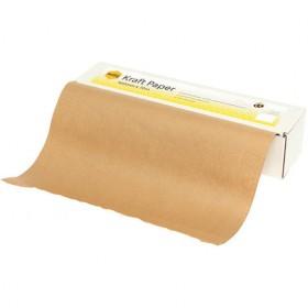 490mm x 60m Kraft Shop Roll - Packaging Direct