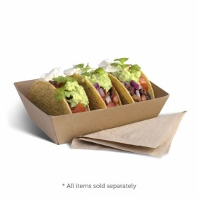 No1 Brown Board Open Tray - Packaging Direct