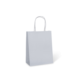 #6 White Petite Paper Carry Bag  - Packaging Direct