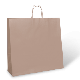 X Large Brown Twist Handle Paper Carry Bag - Packaging Direct