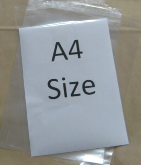 230x330+35mm Reseal Poly Prop Bag - Packaging Direct